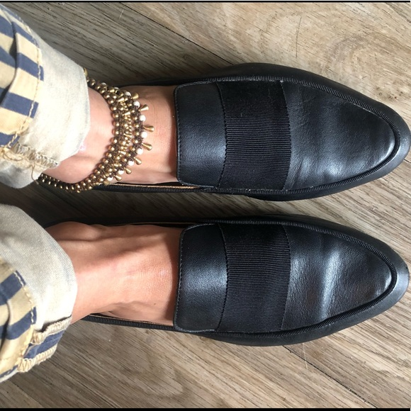 c8027d0db3 rag & bone Shoes | Rag Bone Black Smoking Loafer Moccasin Flats ...